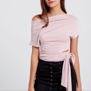 Tops - NWT STORETS DUSTY PINK TOP S/M